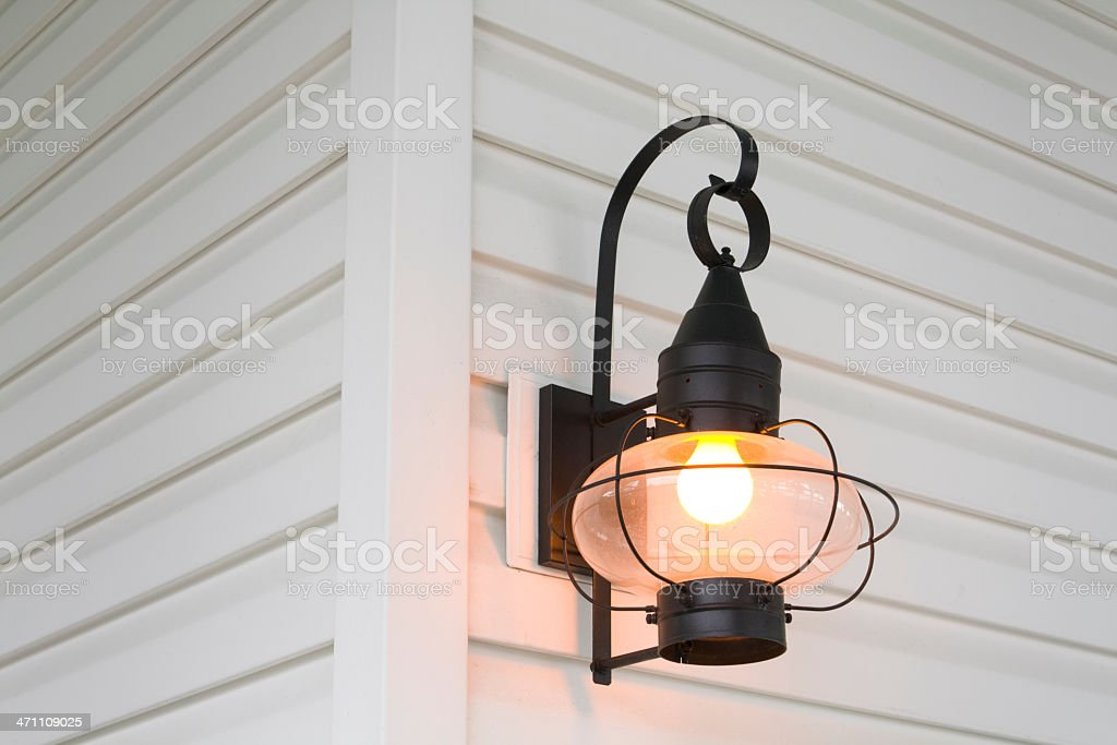 Porch Light stock photo