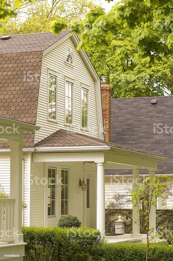 Porch next door royalty-free stock photo