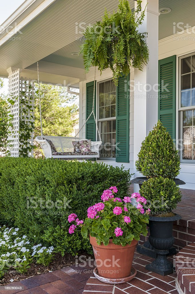 Porch Swing royalty-free stock photo
