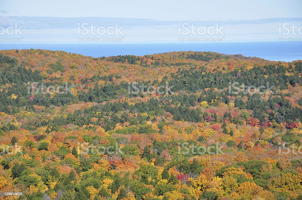 Porcupine Wilderness State Park stock photo