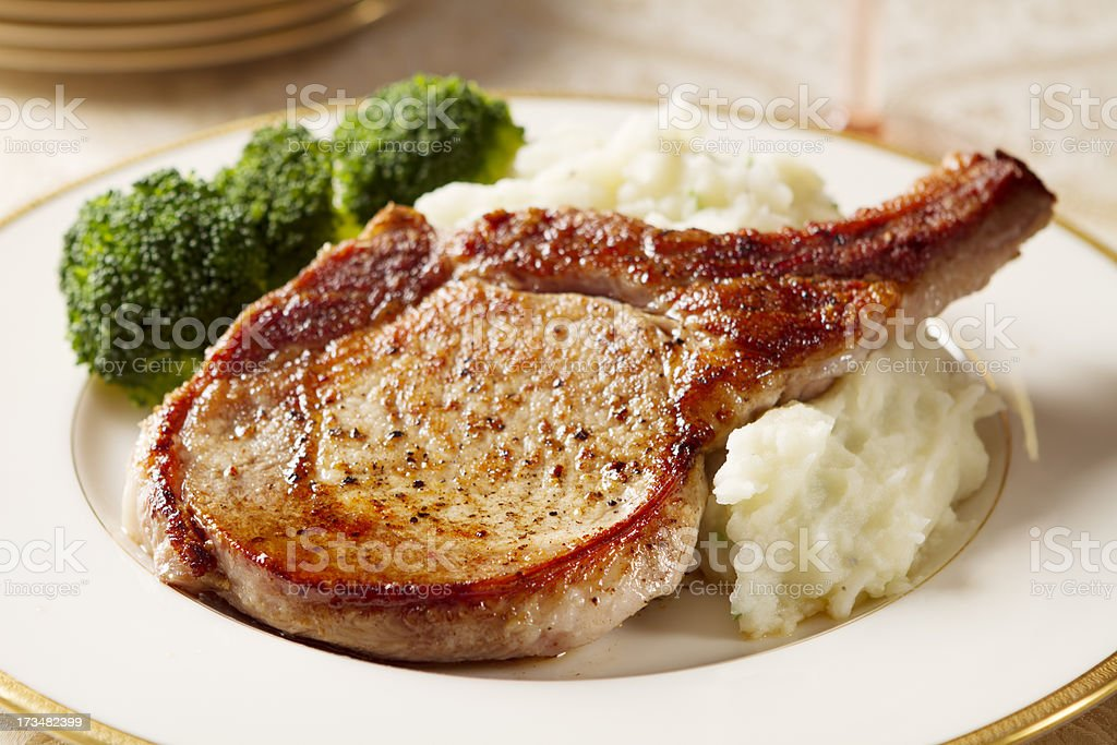 Pork Chop stock photo