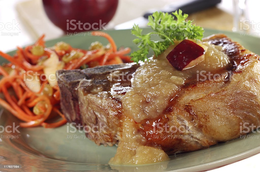 Pork Chops royalty-free stock photo