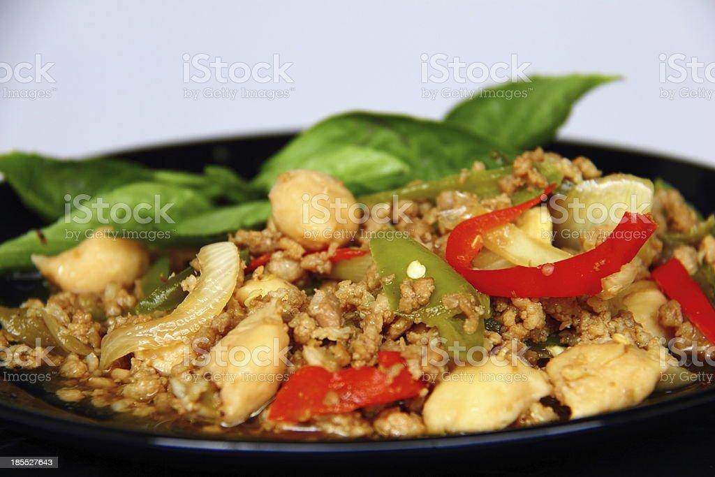 Pork curry. royalty-free stock photo