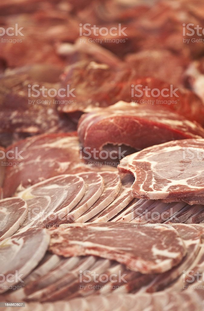 Pork Cutlets royalty-free stock photo