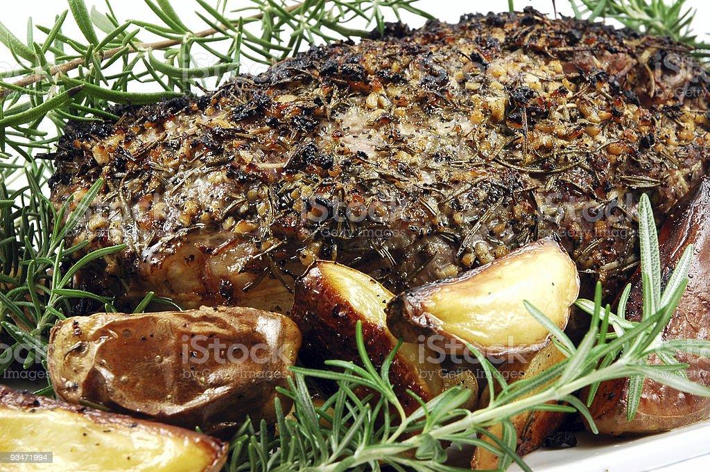 Pork Loin royalty-free stock photo