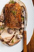 Pork Loin Tenderloin with Mushroom