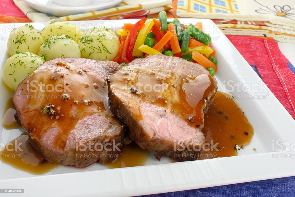Pork meat royalty-free stock photo