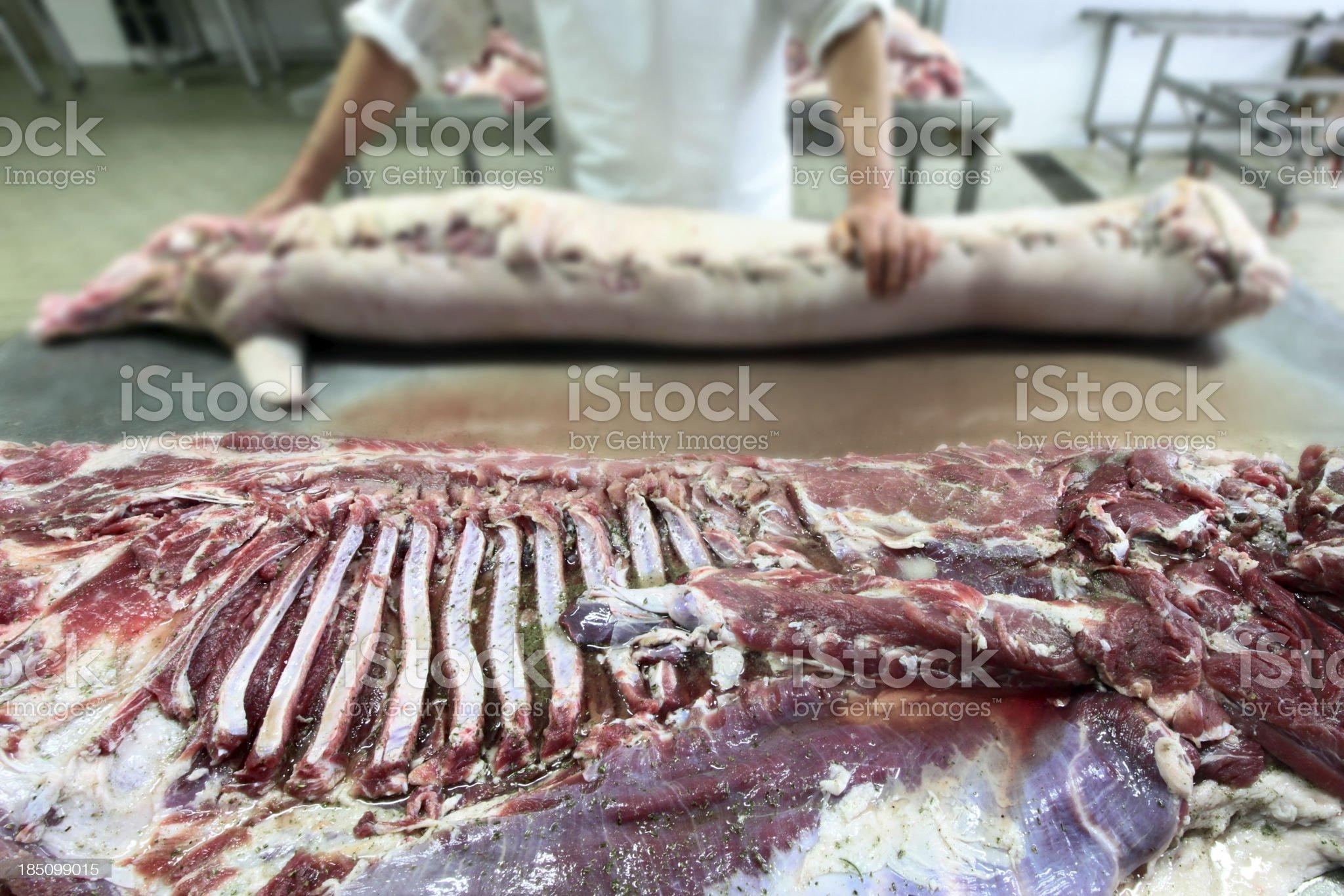Pork meat royalty-free stock photo