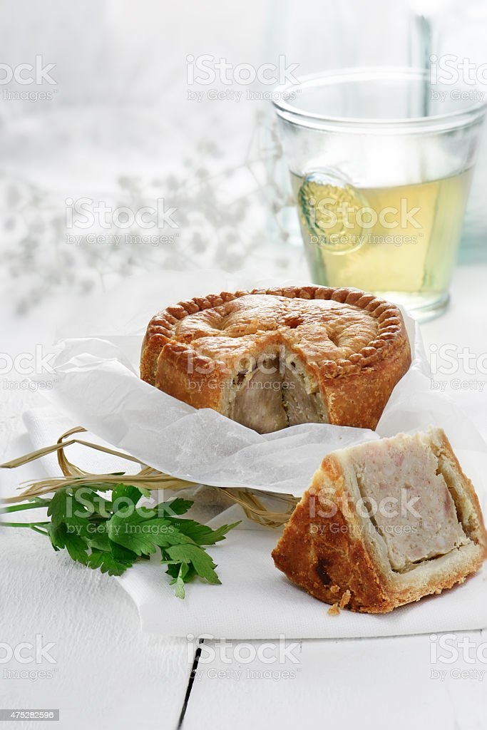 Pork Pie II stock photo
