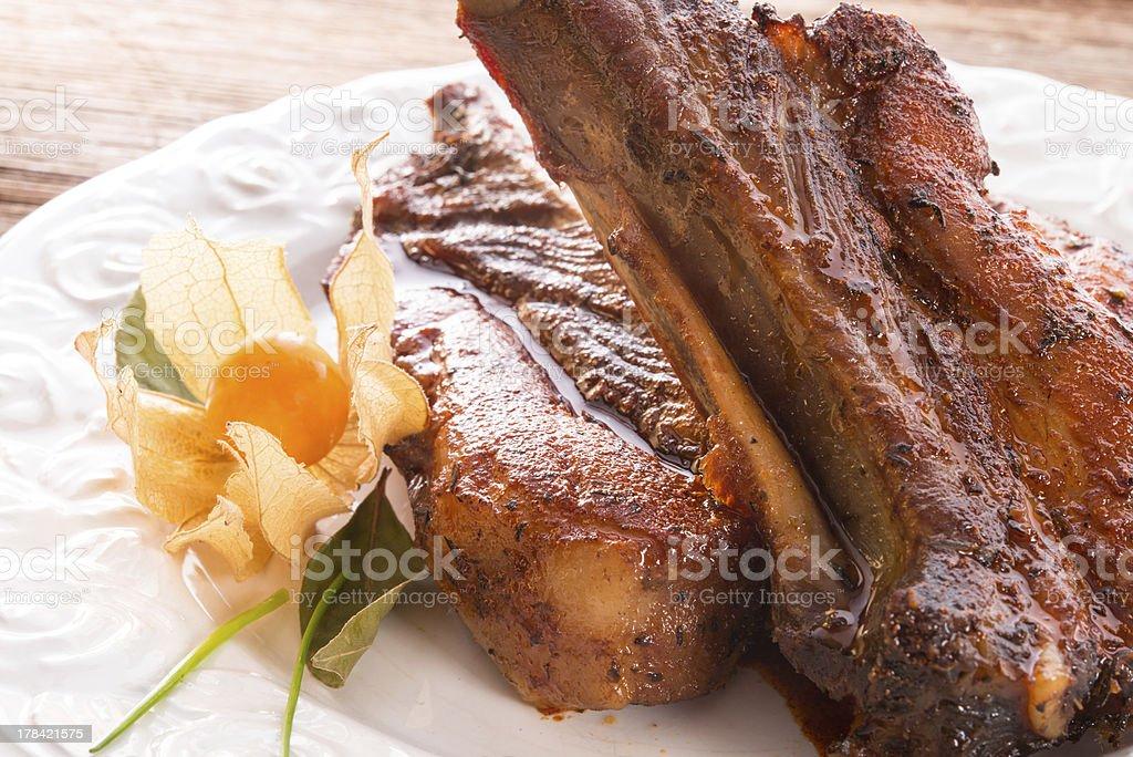 Pork Ribs royalty-free stock photo