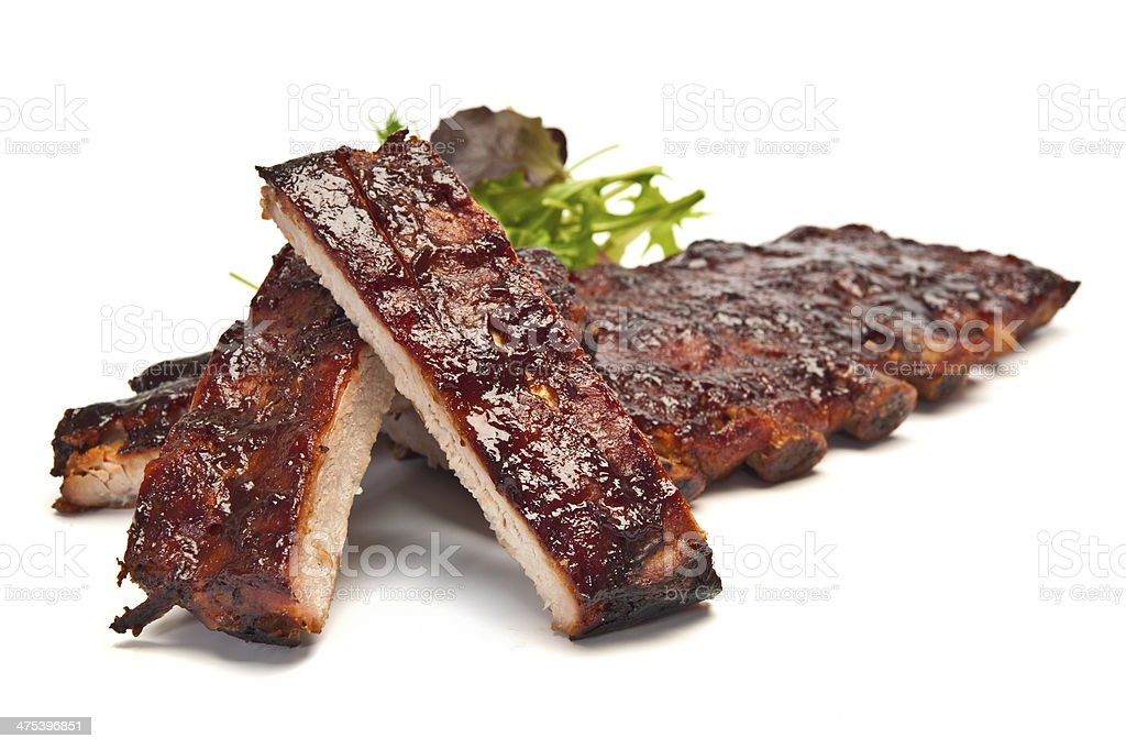 Pork Ribs stock photo