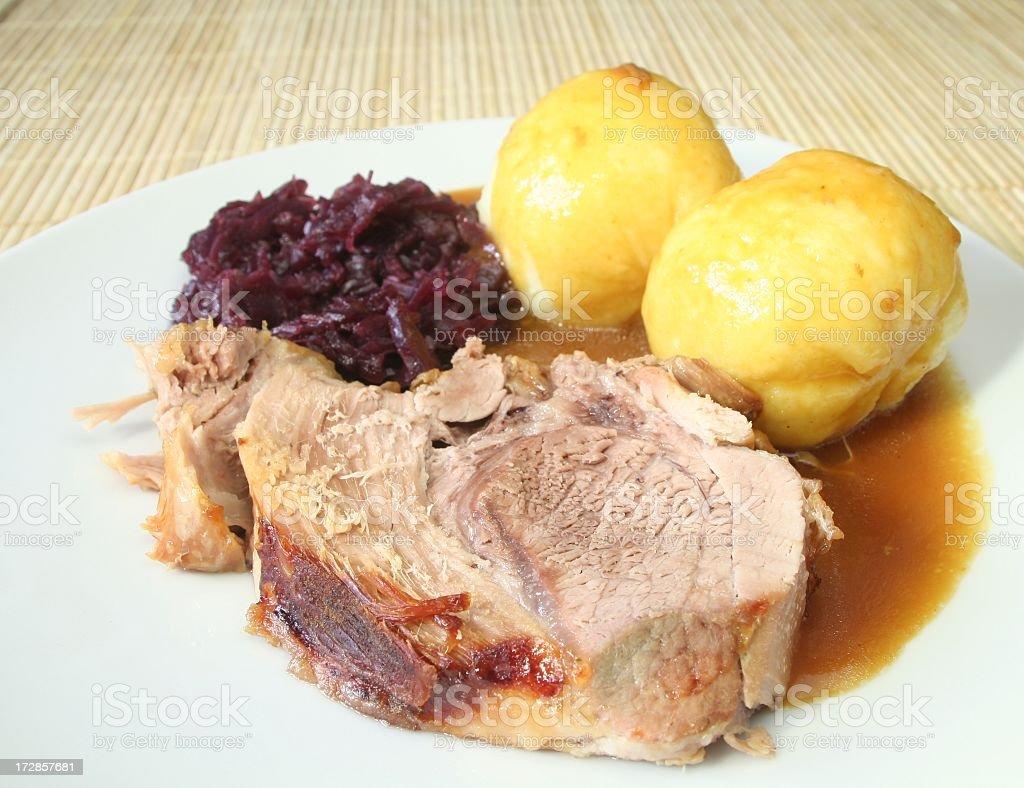 Pork Roast royalty-free stock photo