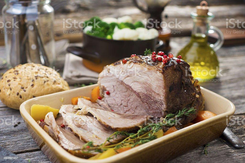 Pork Roast stock photo
