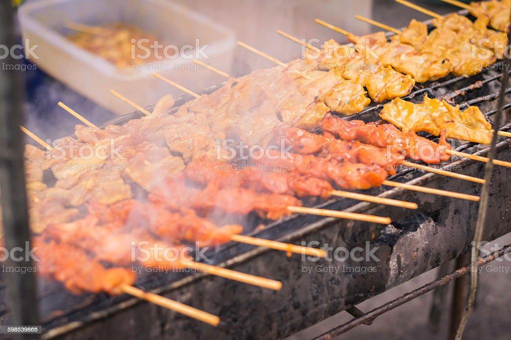 Pork roast... stock photo