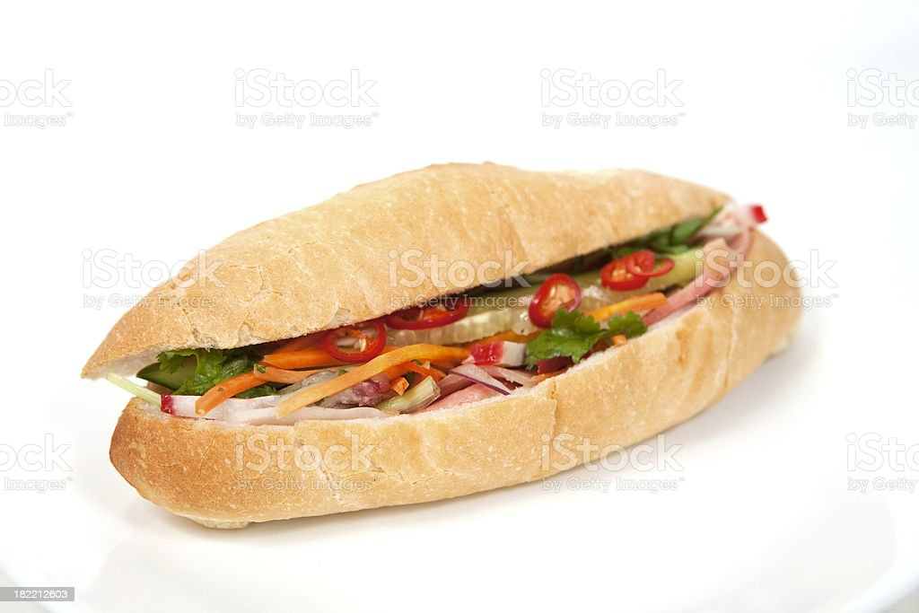 Pork Roll royalty-free stock photo