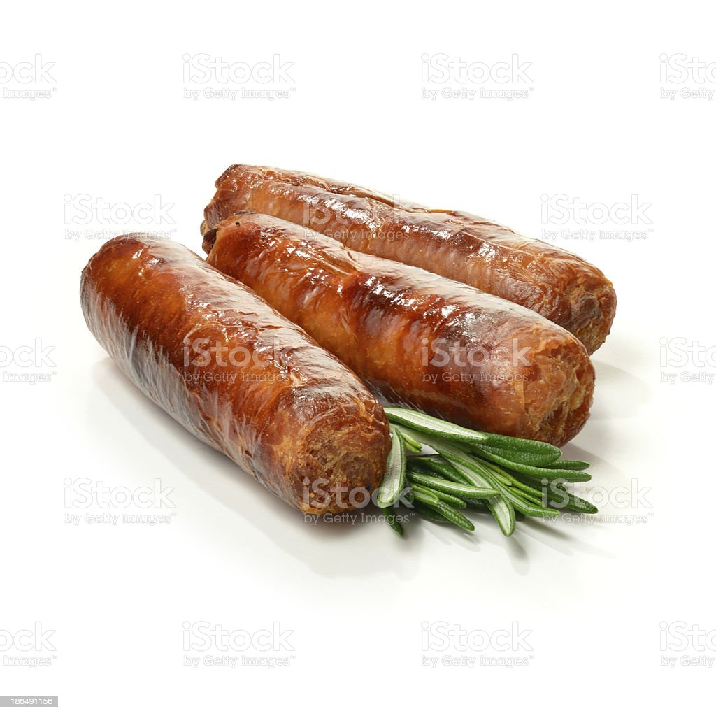 Pork Sausages 2 stock photo
