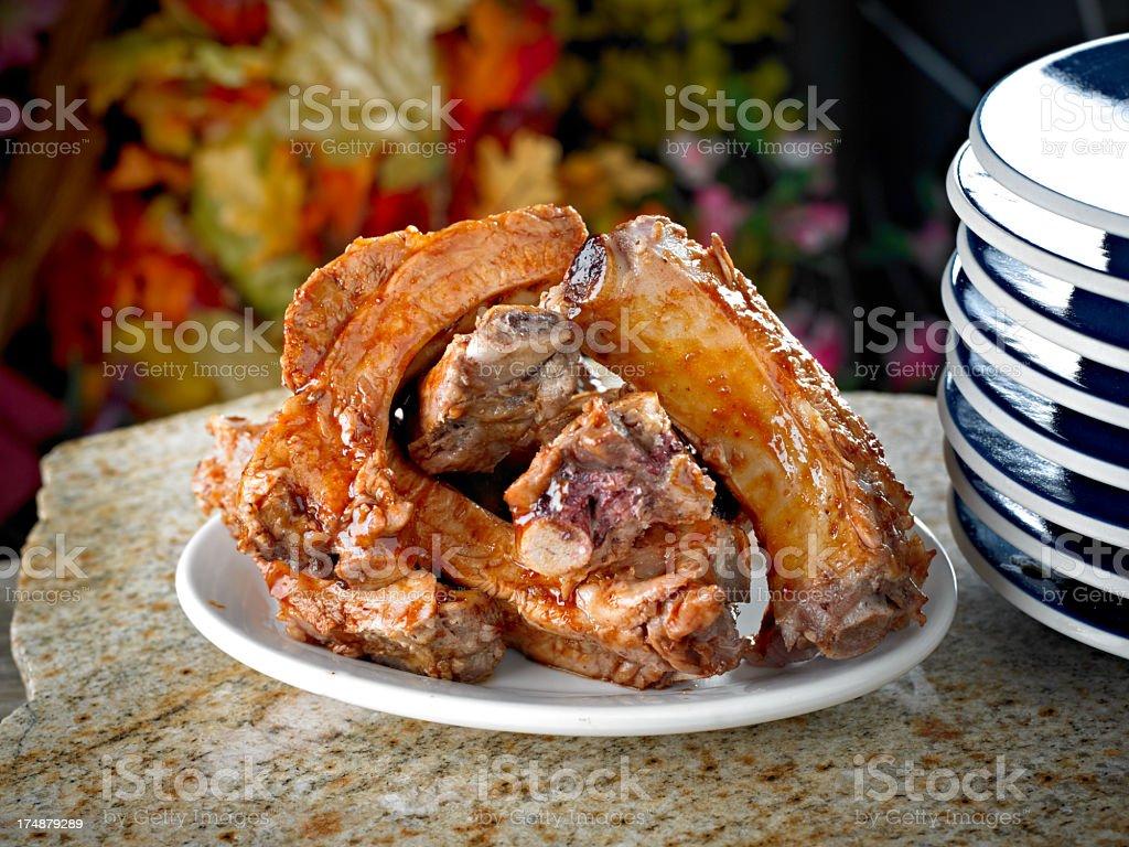 Pork Sparerib royalty-free stock photo