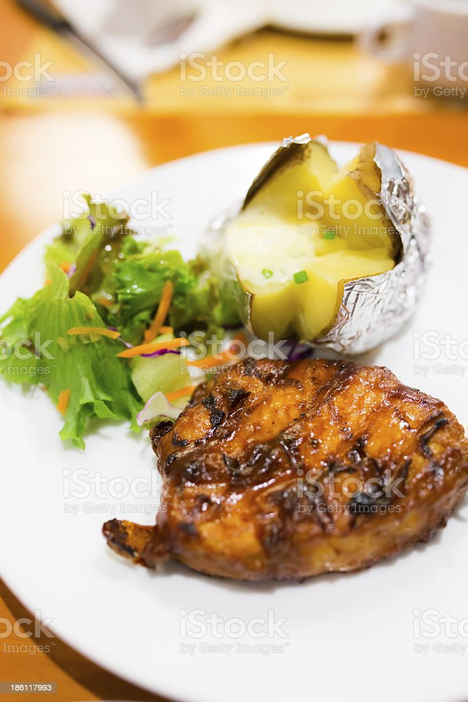 Pork Steak royalty-free stock photo