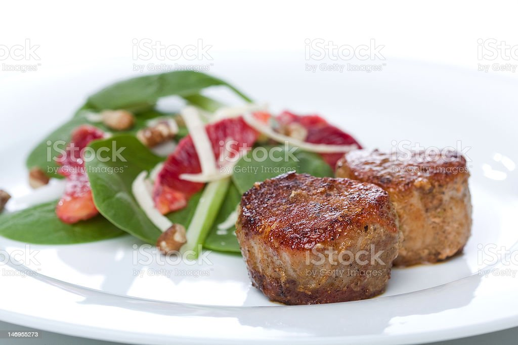 Pork Tenderloin Medallions royalty-free stock photo