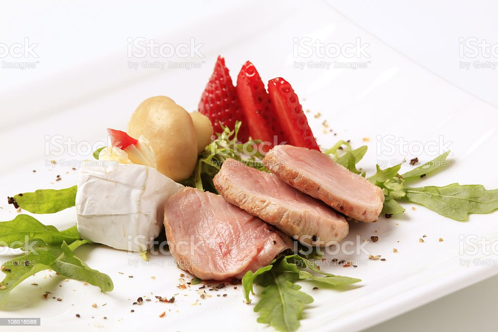 Pork tenderloin royalty-free stock photo