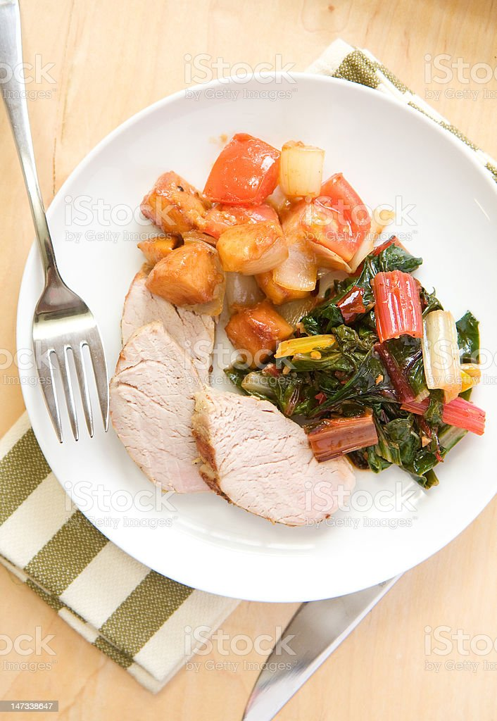 Pork Tenderloin stock photo