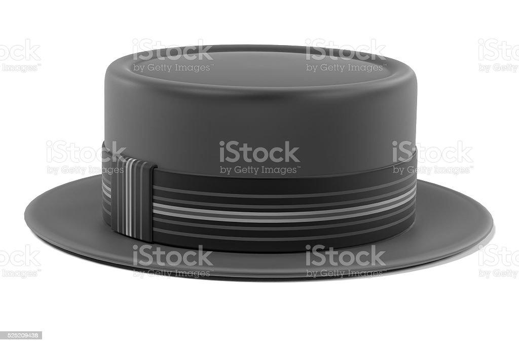 porkpie hat stock photo
