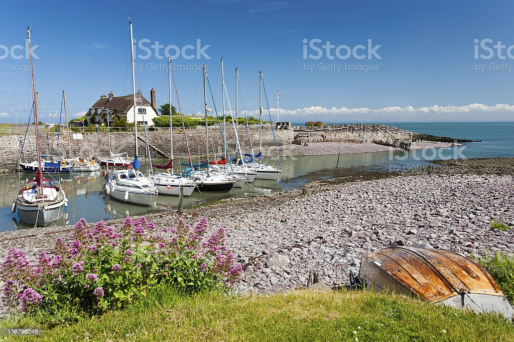Porlock Weir stock photo