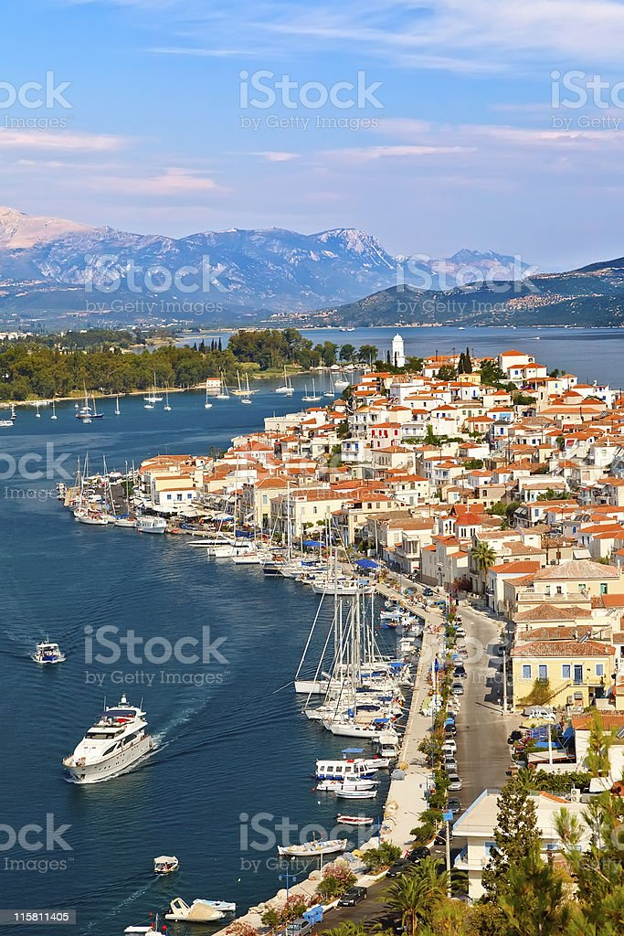 Poros royalty-free stock photo