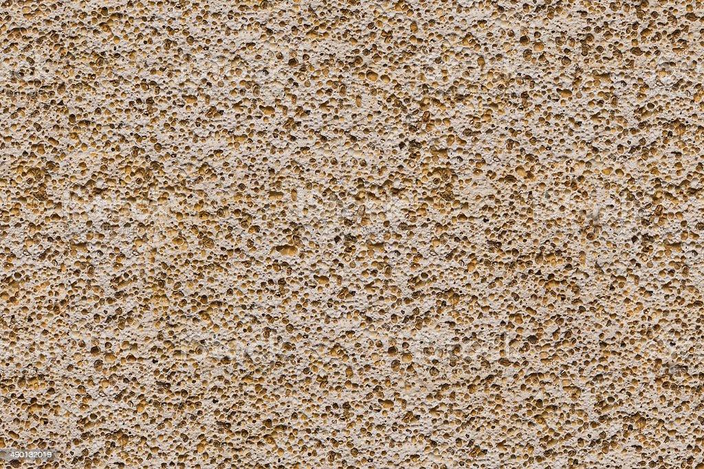 porouse scrub texture seamless background, foam stone limestone stock photo