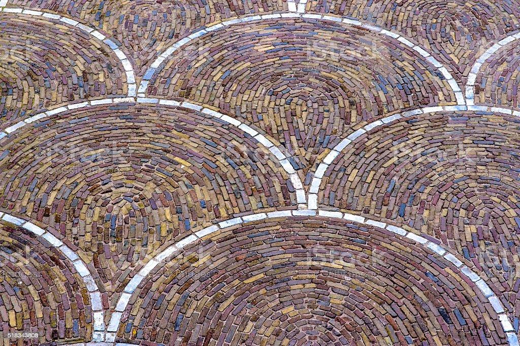 Porphyry flooring stock photo