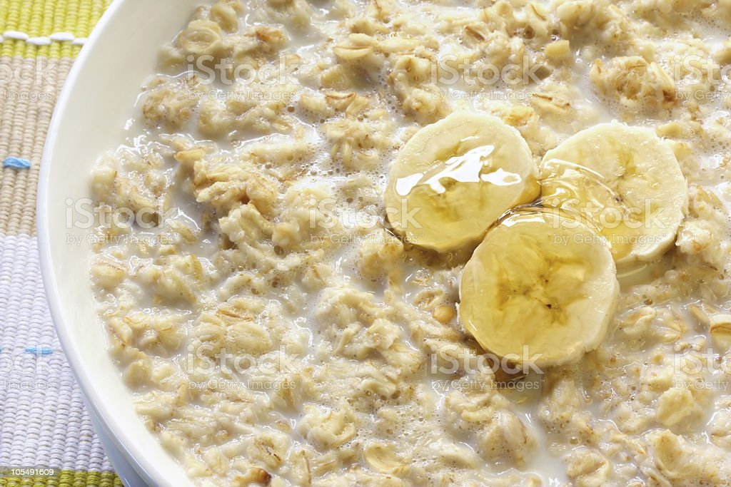 Porridge royalty-free stock photo