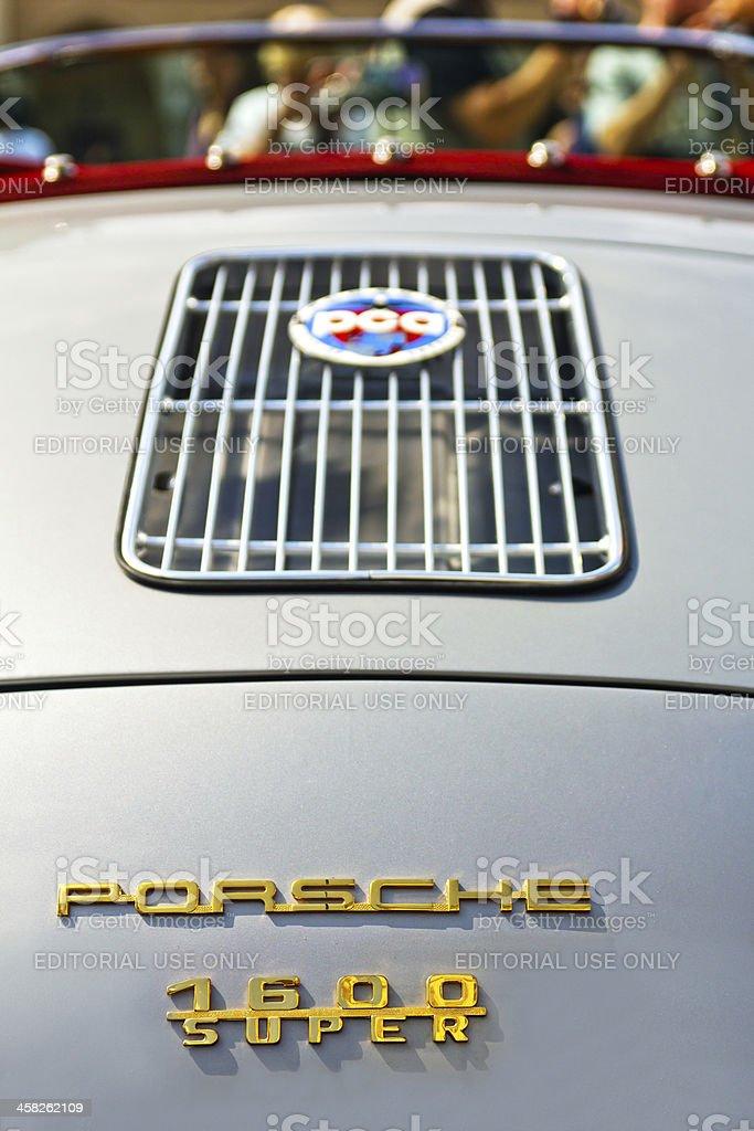 Porsche 1600 Super stock photo