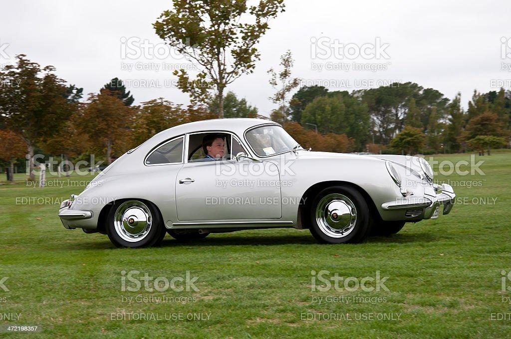 Porsche 356 from 1961 stock photo
