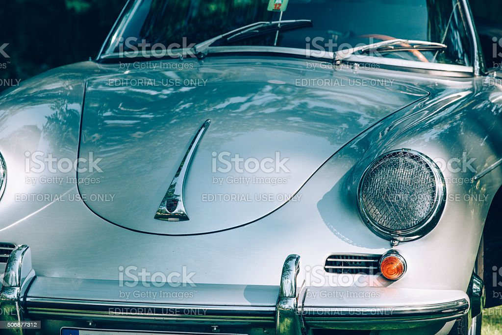Porsche 356 from 1963 stock photo