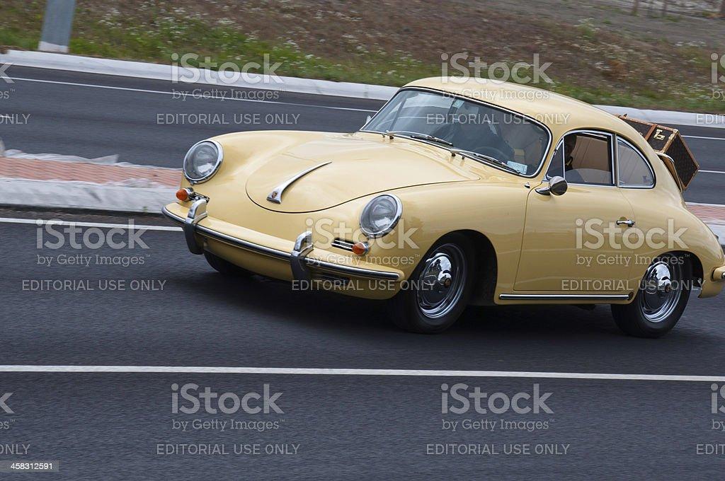 Porsche 356 royalty-free stock photo