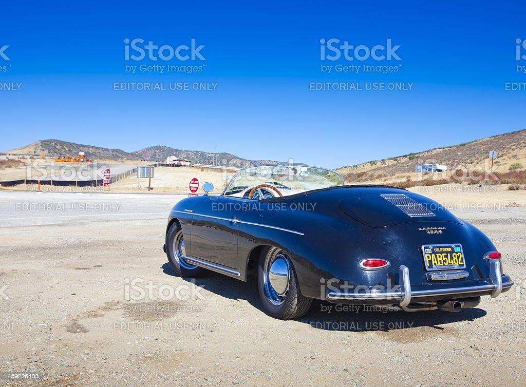 Porsche 356 Speedster stock photo