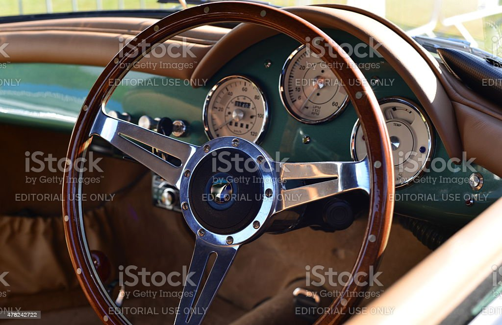 Porsche 356 Speedster. stock photo