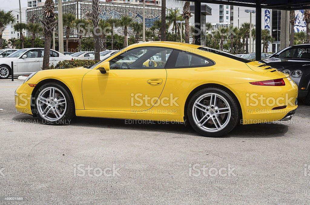 Porsche 911 Carrera royalty-free stock photo