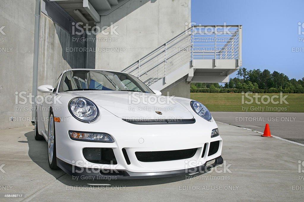 Porsche 911 GT3 royalty-free stock photo
