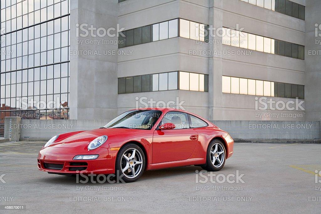 Porsche 911 royalty-free stock photo
