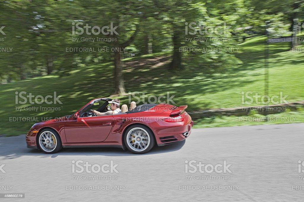 Porsche 911 Turbo royalty-free stock photo
