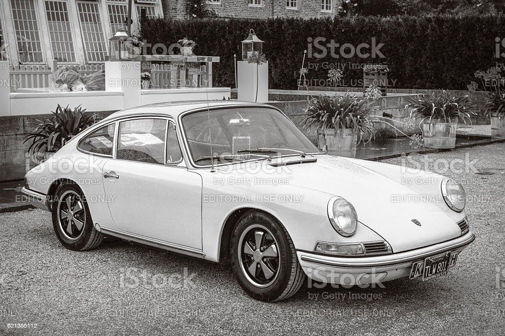 Porsche 911 vintage classic sports car stock photo