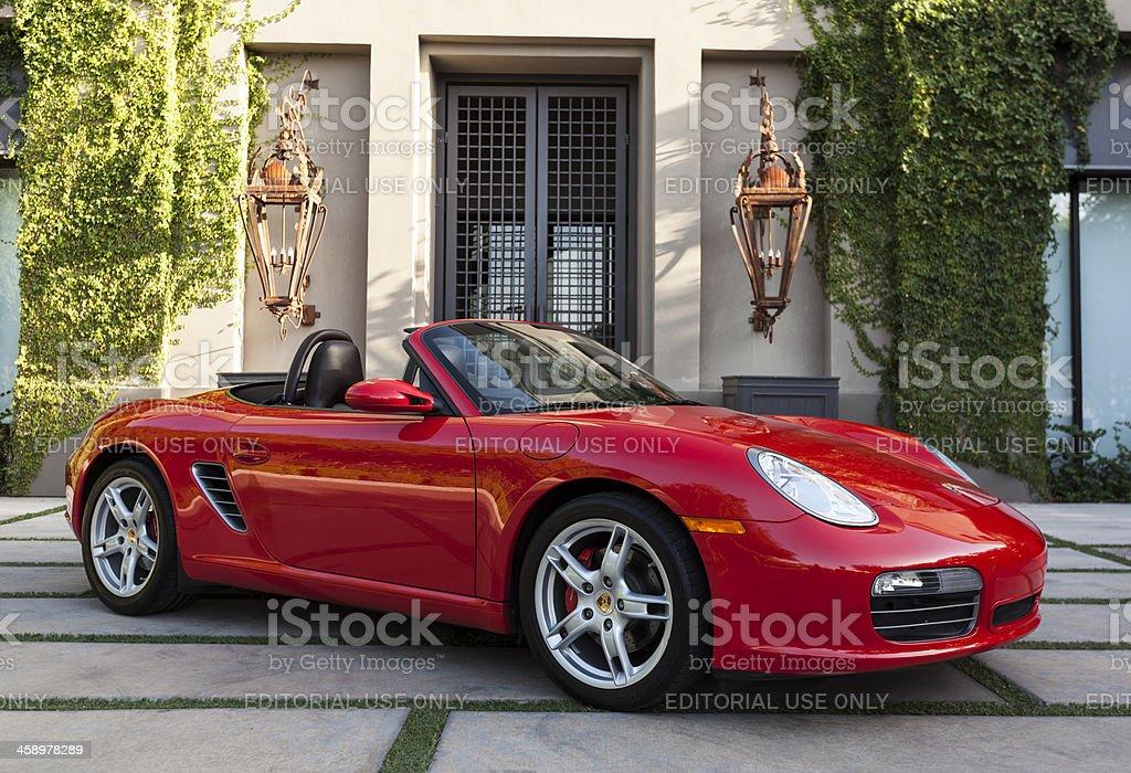 Porsche Boxster royalty-free stock photo