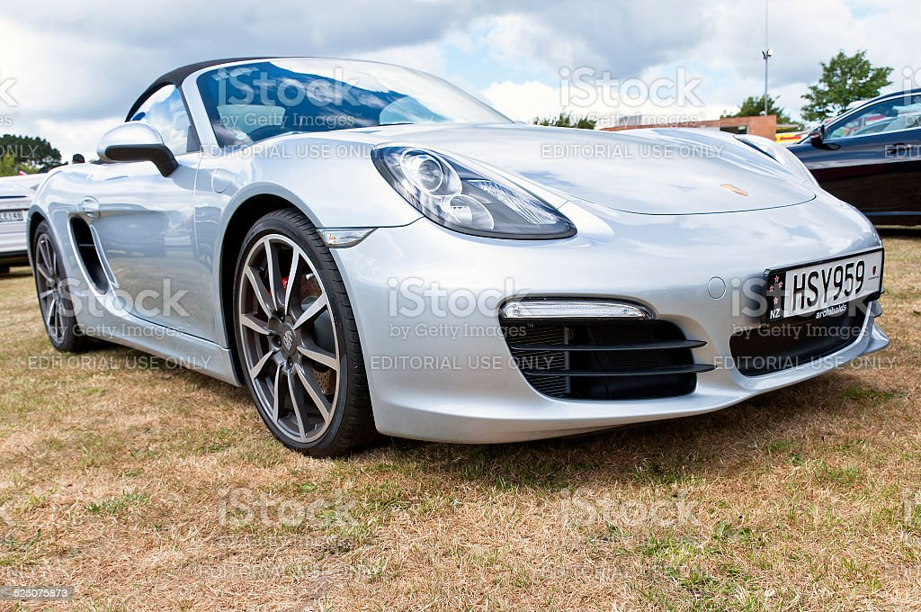 Porsche Boxster S from 2014 stock photo