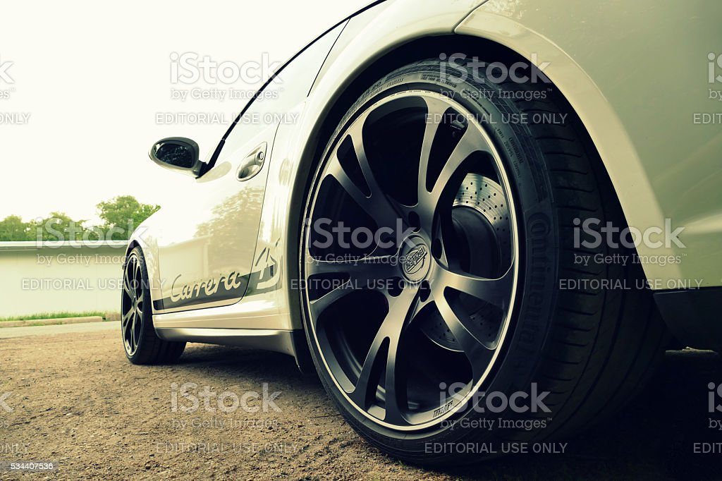 Porsche Carrera stock photo