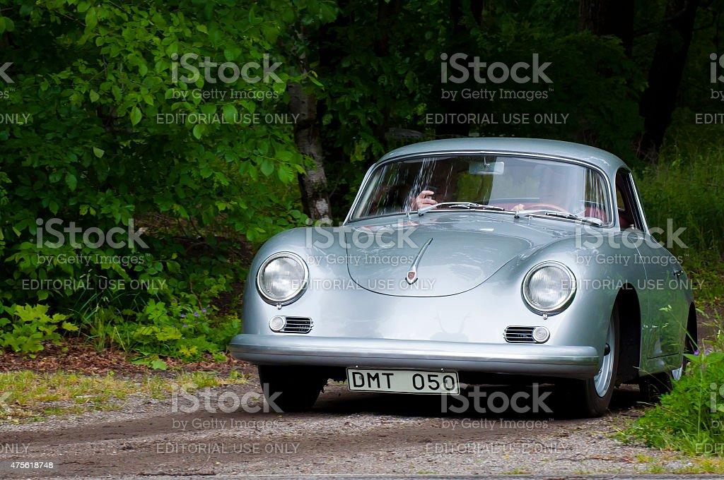 Porsche Lim 356 from 1959 stock photo