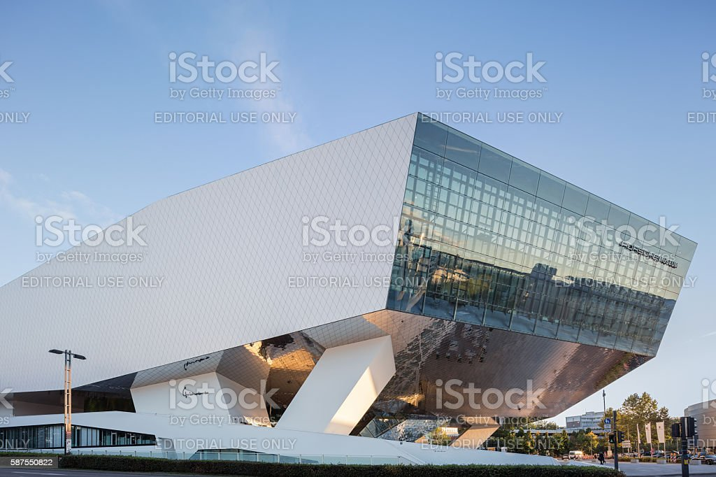 Porsche Museum in Stuttgart, Germany stock photo