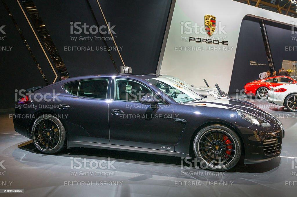 Porsche Panamera GTS stock photo