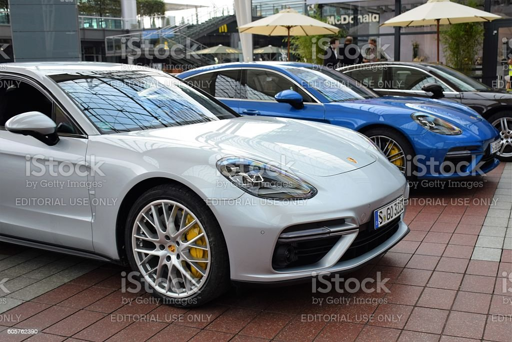 Porsche Panamera II stock photo