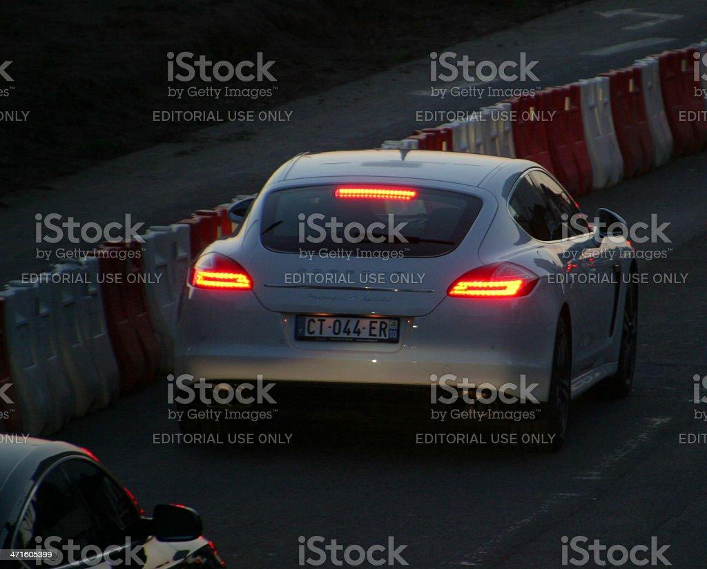 Porsche Panamera royalty-free stock photo